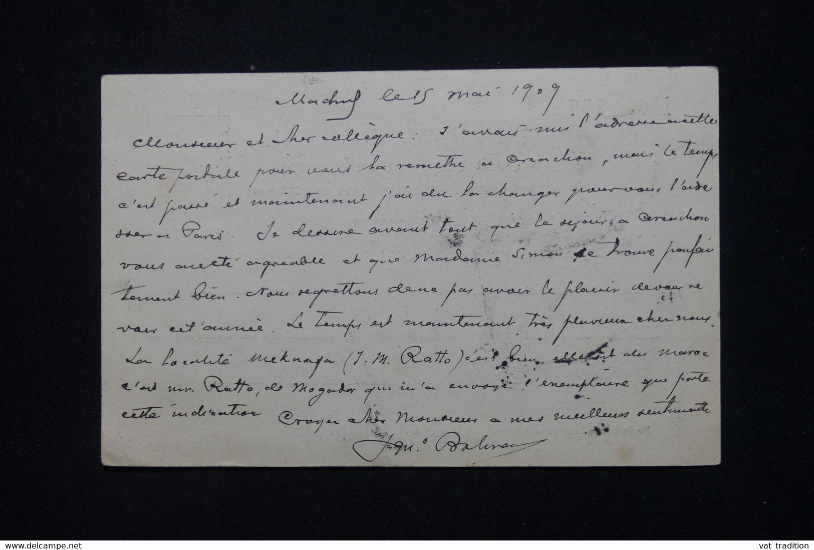 ESPAGNE - Entier Postal De Madrid En 1909 Pour La France - L 79830 - 1850-1931
