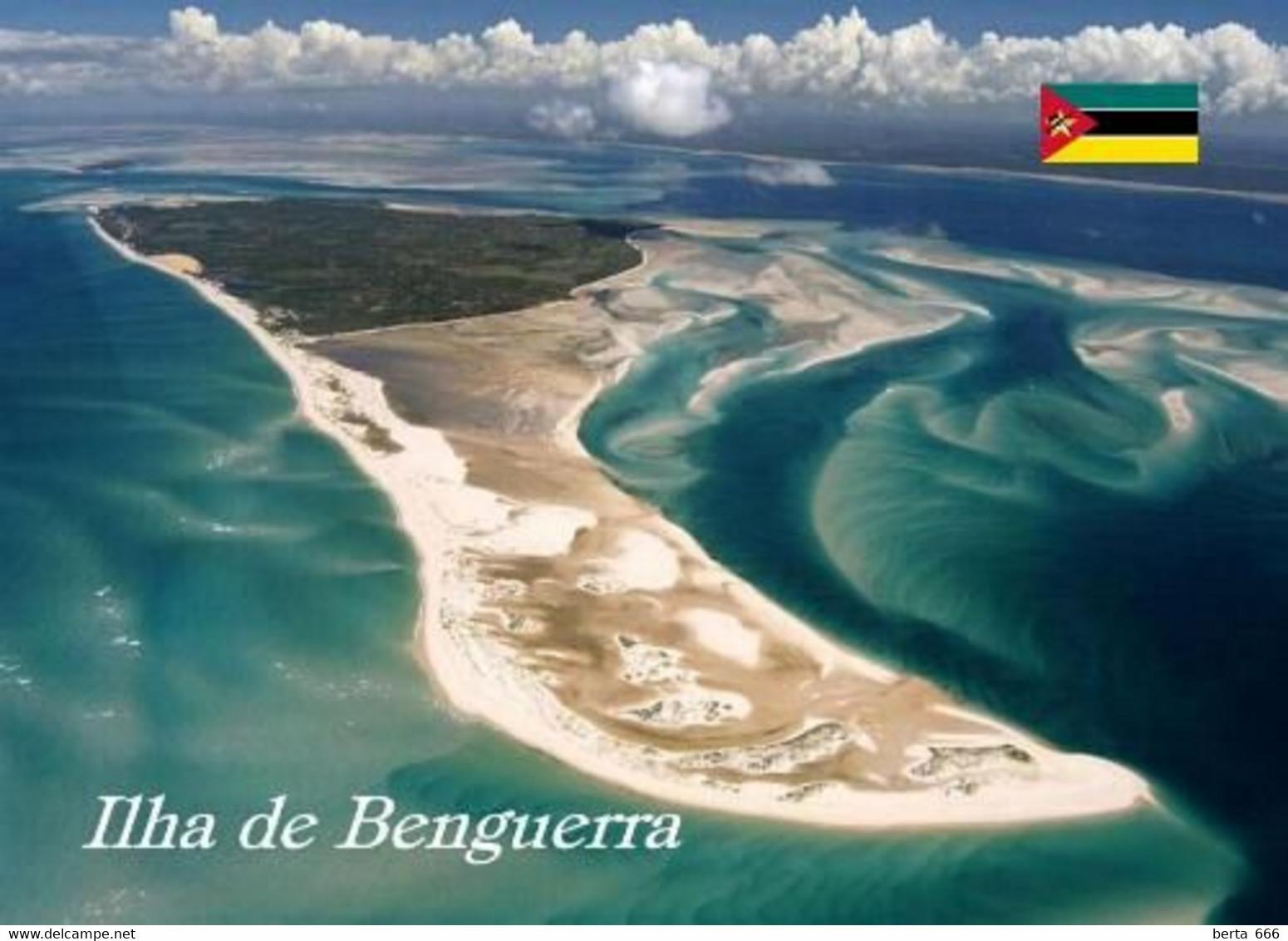 Mozambique Benguerra Island Aerial View New Postcard Mosambik AK - Mozambique