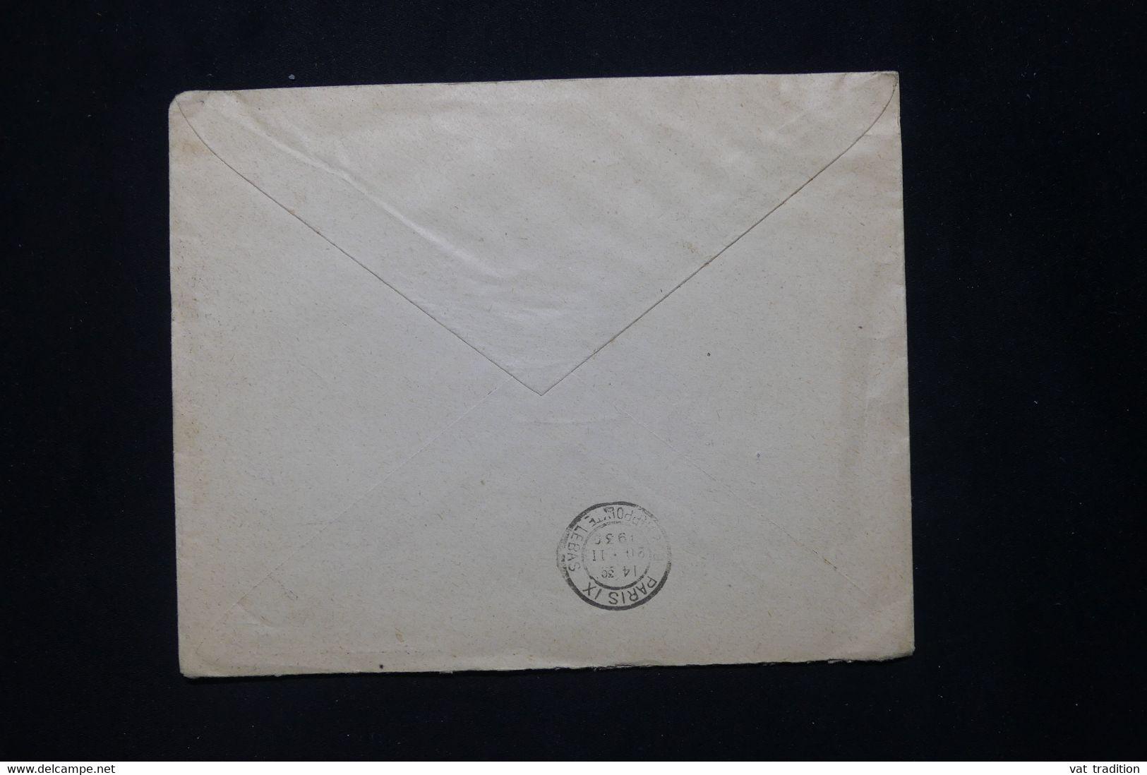 ESPAGNE - Enveloppe De Zaragoza Pour La France En 1930 - L 79892 - Lettres & Documents