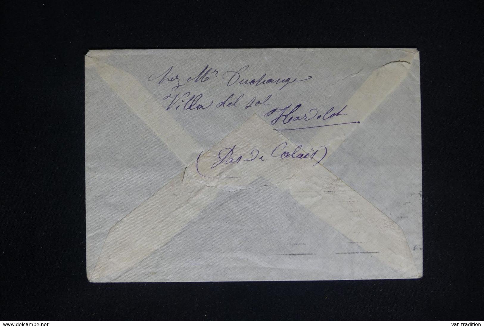 ESPAGNE - Enveloppe Pour La France - L 79893 - Cartas