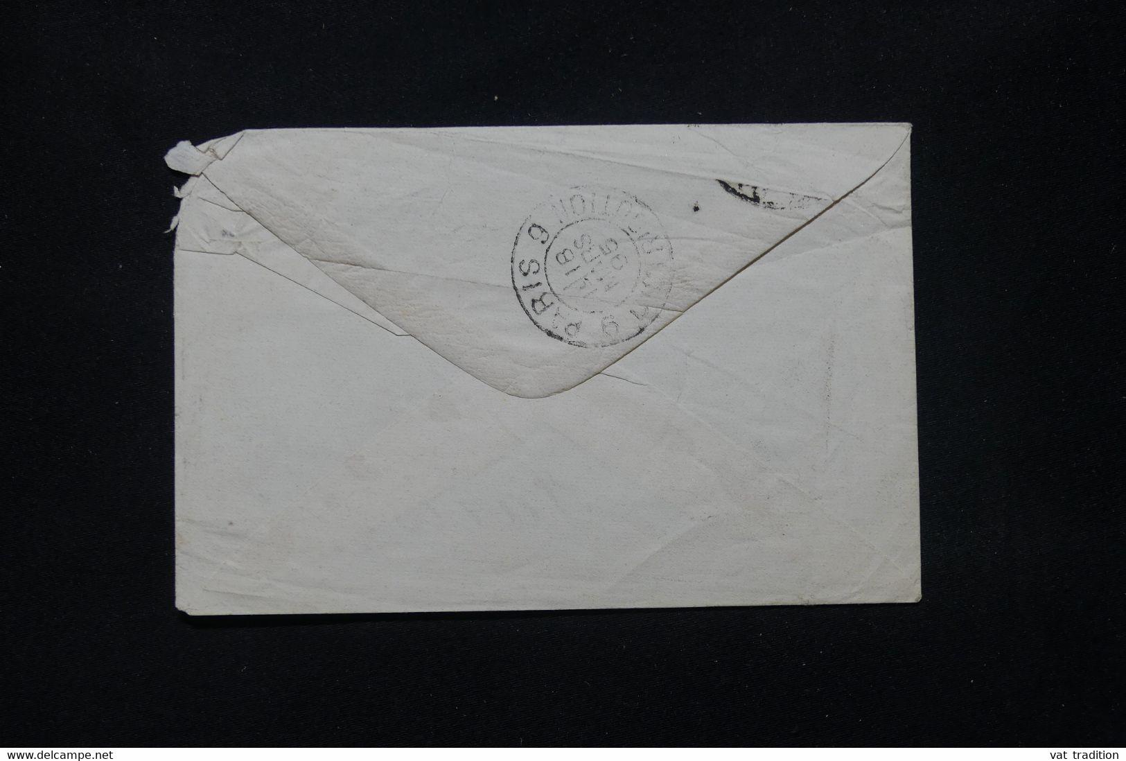 ESPAGNE - Enveloppe Pour La France En 1895 - L 79915 - Cartas