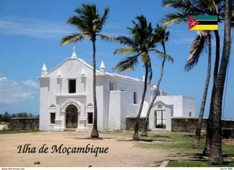 Mozambique Island Church UNESCO New Postcard Mosambik AK - Mozambico