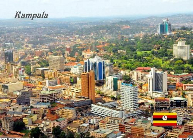 Uganda Kampala Aerial View New Postcard - Oeganda