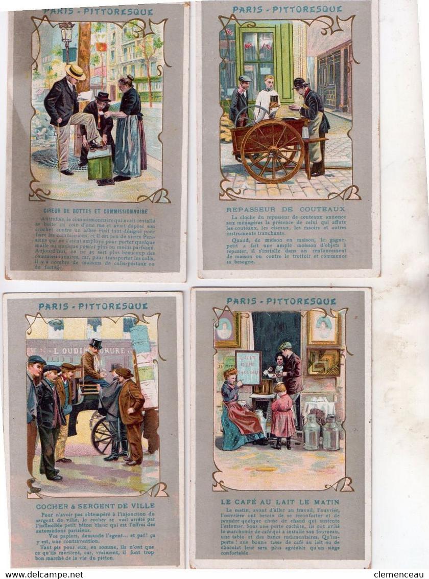 1 Lot De 4 Cartes Paris Pitoresque - 5 - 99 Postkaarten