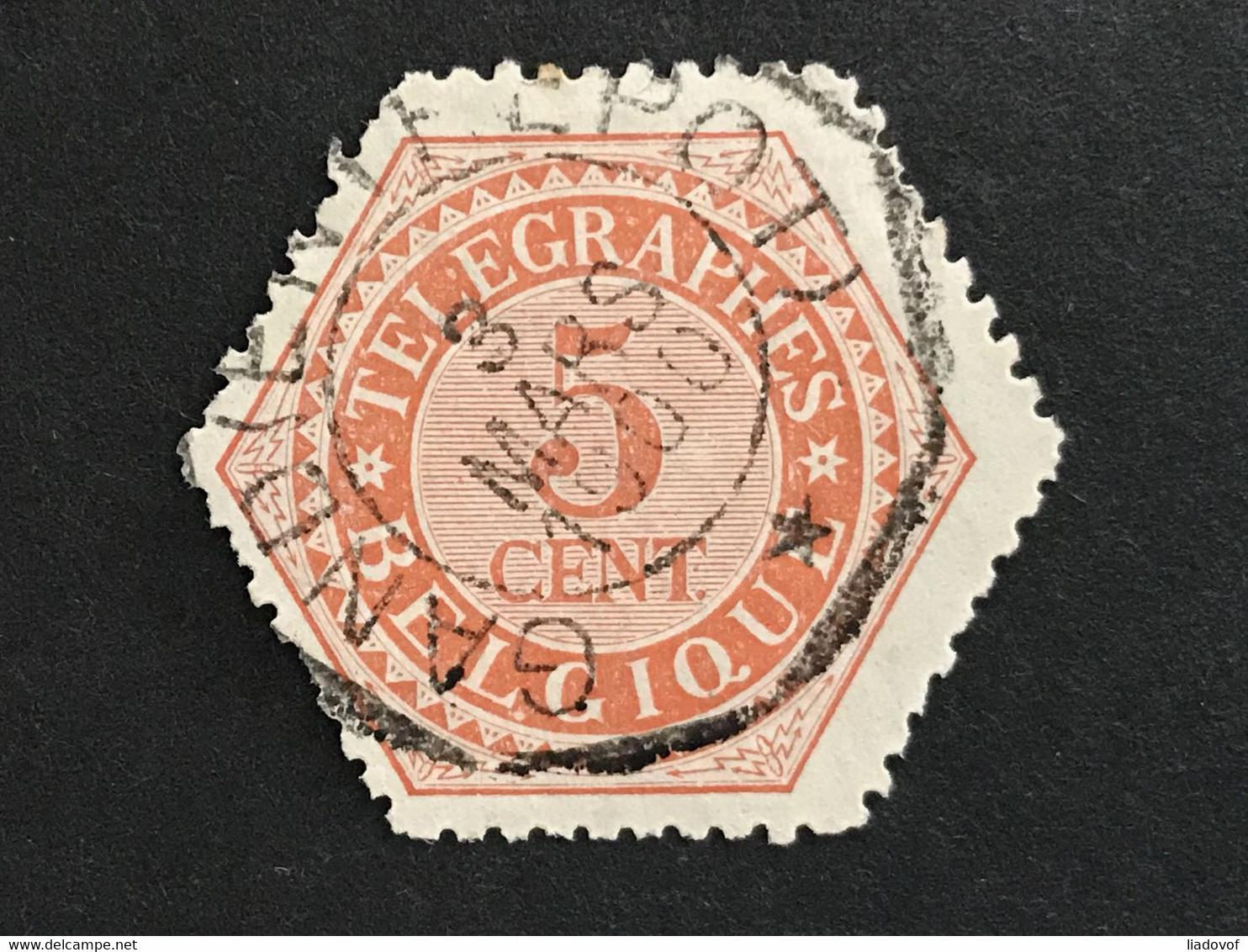 TG9 Gestempeld GAND ENTREPOT - Telegrafo