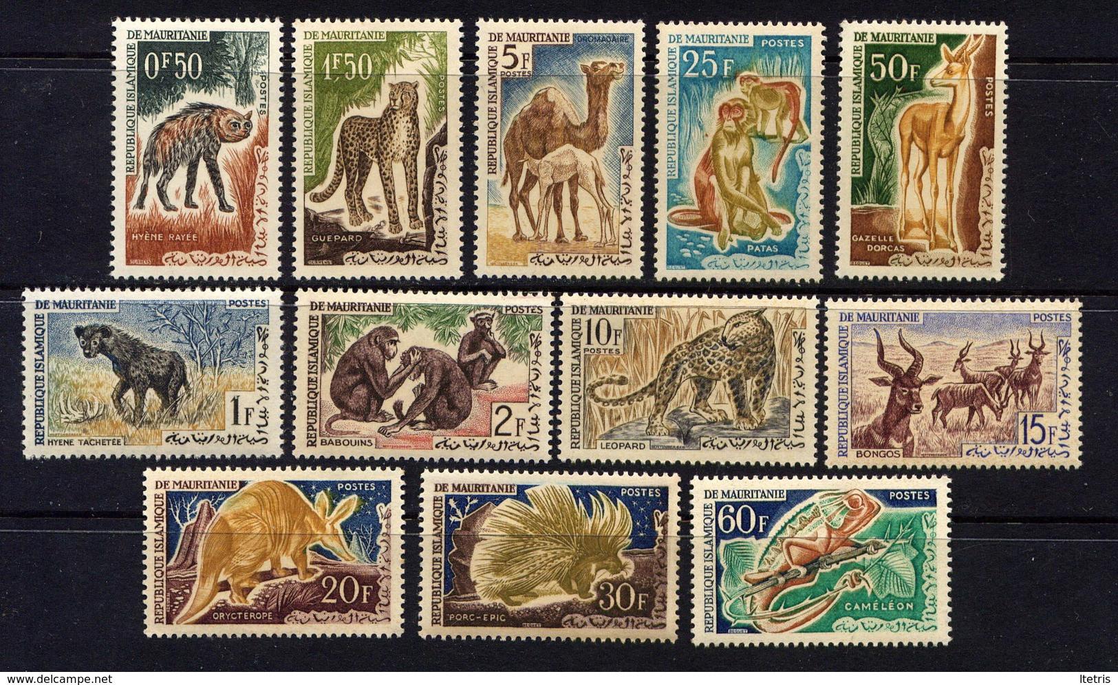 MAURITANIE - 165/176*/** - FAUNE - Mauritanie (1960-...)