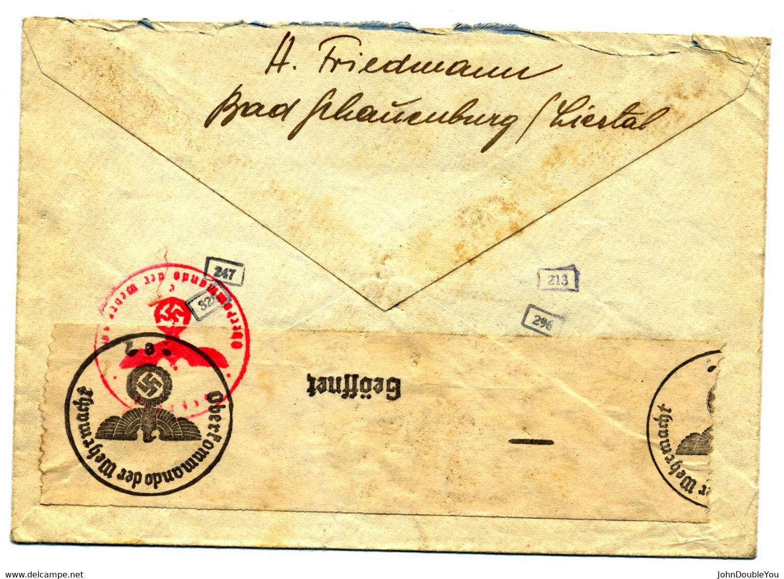 Letter From Liestal, Switzerland, To Hooghalen, Westerbork Camp, The Netherlands - Storia Postale
