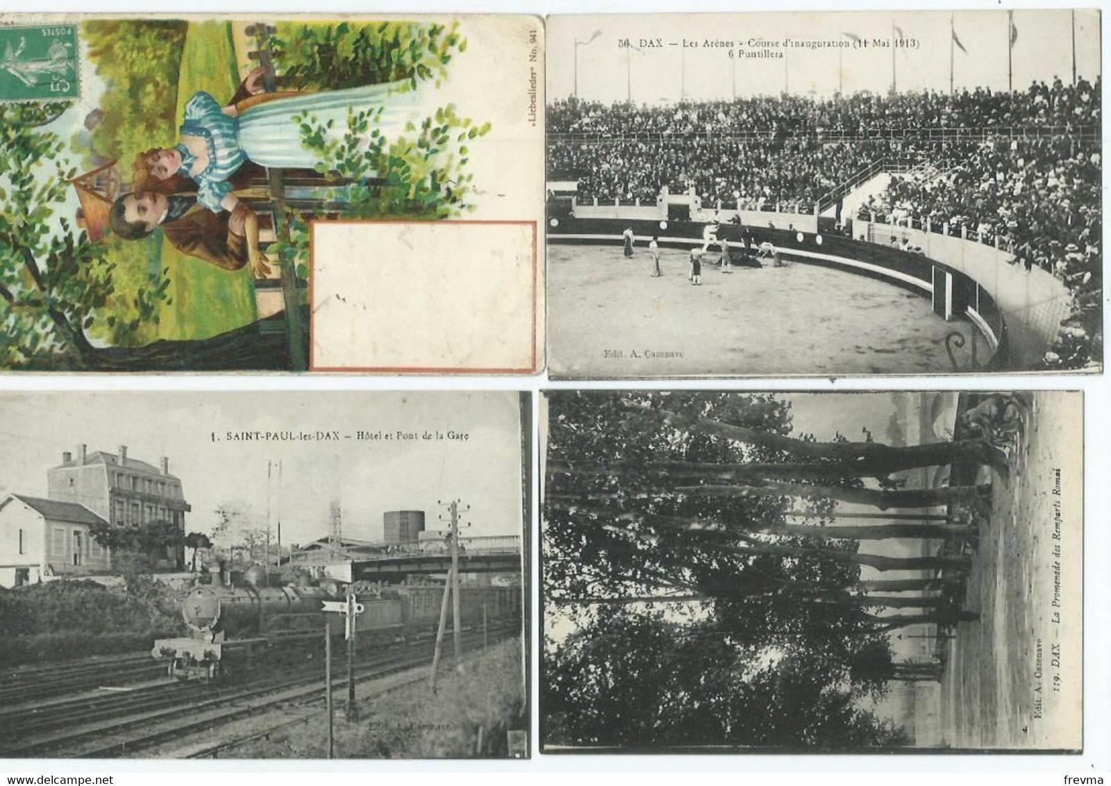 Lot 800 Cpa France Type Drouille Avec Quelques Petites Animation - 500 Postkaarten Min.