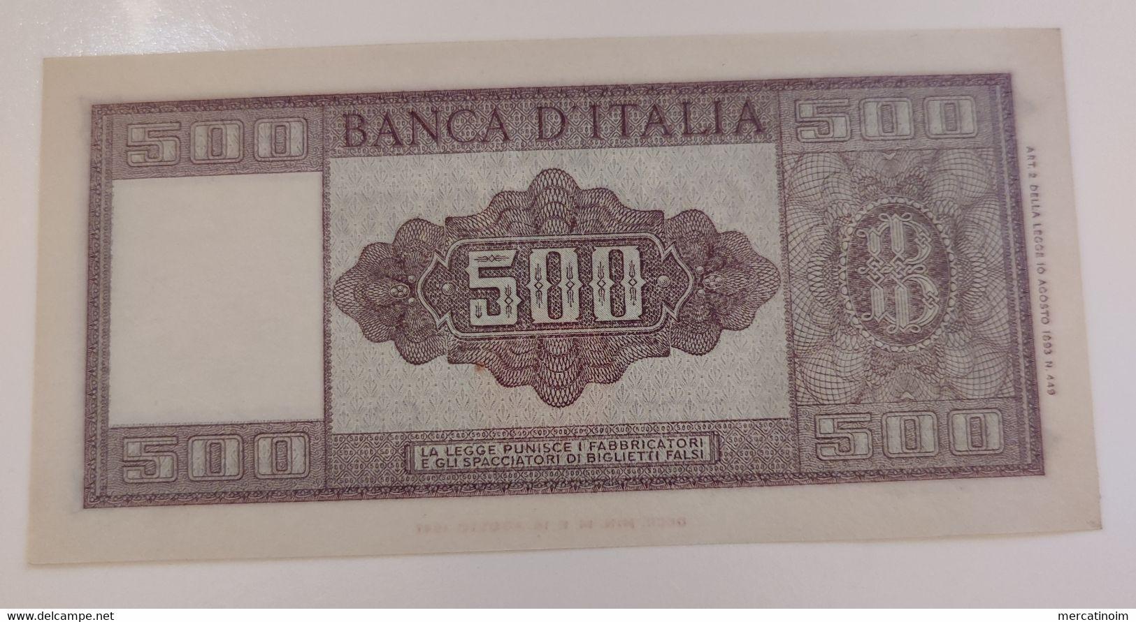 500 Lire 1947 - 500 Lire