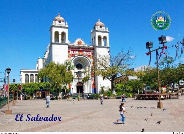 El Salvador San Salvador Cathedral New Postcard - El Salvador