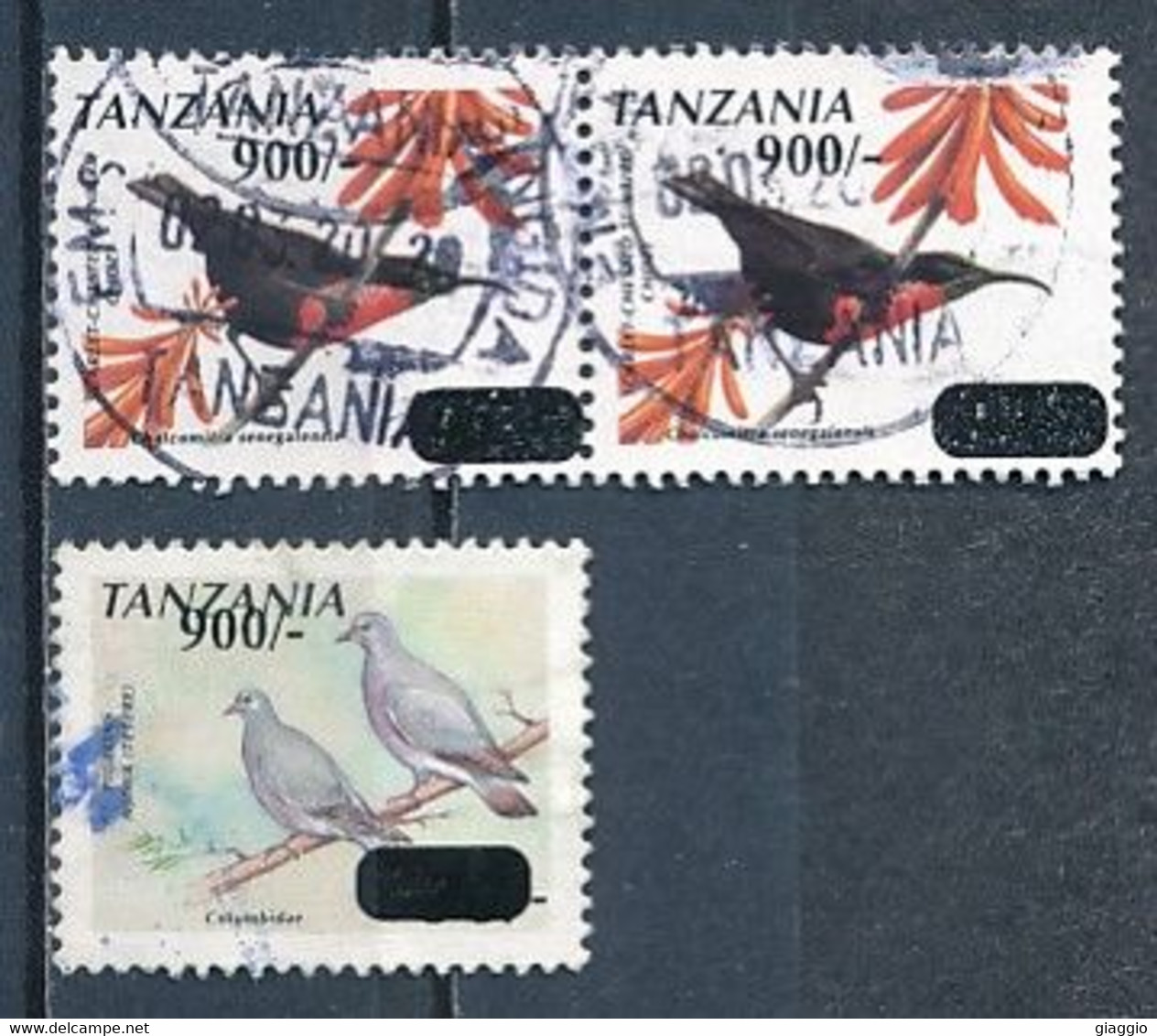 °°° TANZANIA - BIRDS - 2016 °°° - Tanzanie (1964-...)