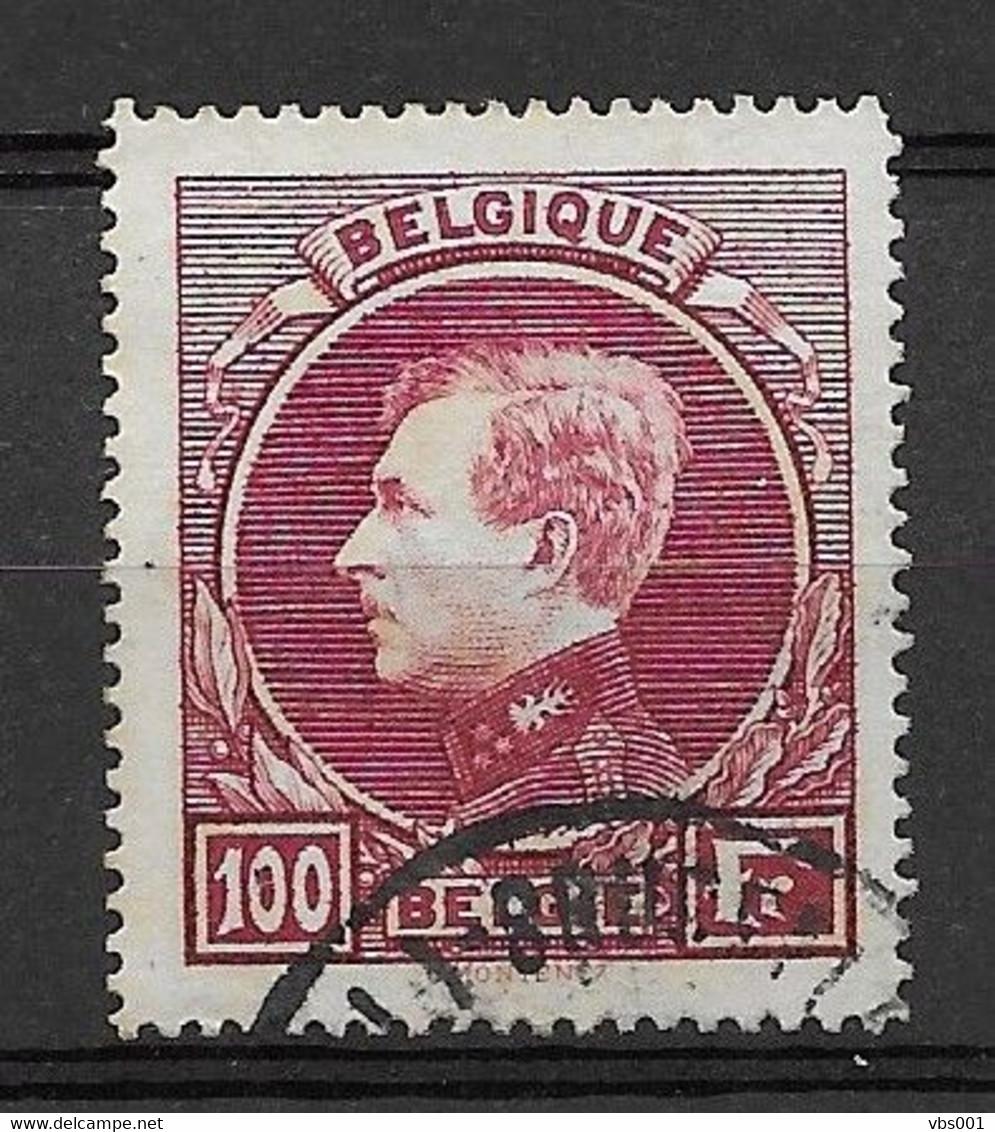 OBP292 (Parijse Druk), Gestempeld CW 55 € - 1929-1941 Big Montenez