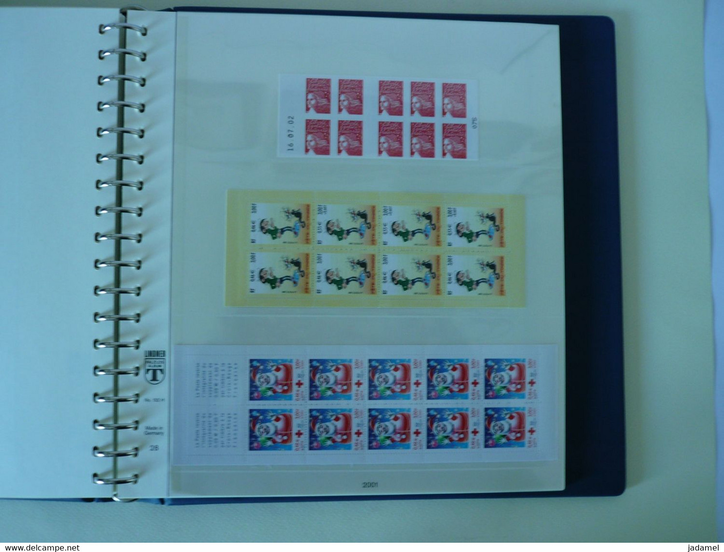 France - Collection Complète 2000 à 2010 Dans Albums Pré-imprimés Lindner - Neuf** Fraîcheur Postale à La VALEUR FACIALE - 2000-2009