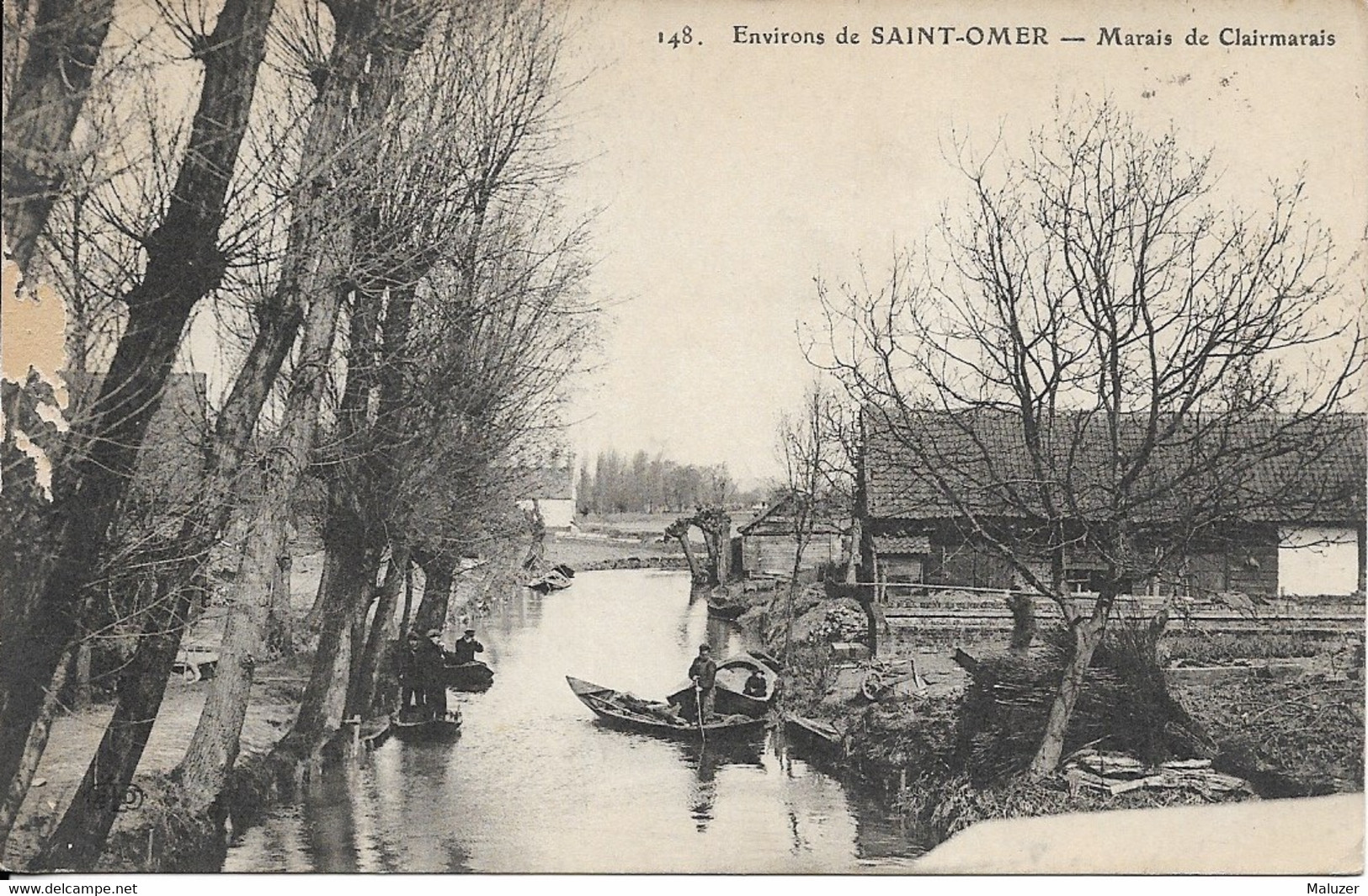 CARTE POSTALE ENVIRONS DE SAINT-OMER - MARAIS DE CLAIRMARAIS - Saint Omer