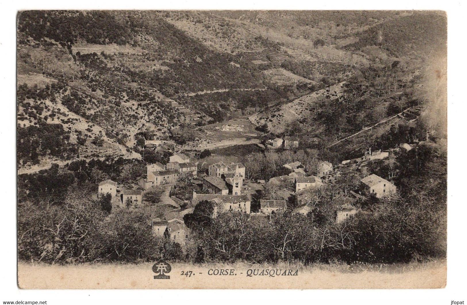 2A CORSE DU SUD - QUASQUARA Vue Générale - Other Municipalities