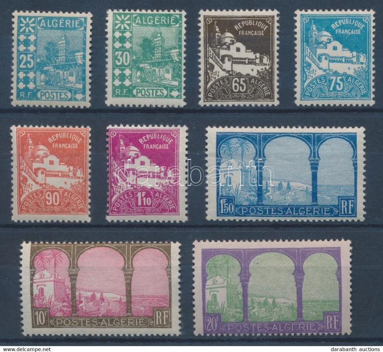 * 1927 Mi 78-86 - Sin Clasificación