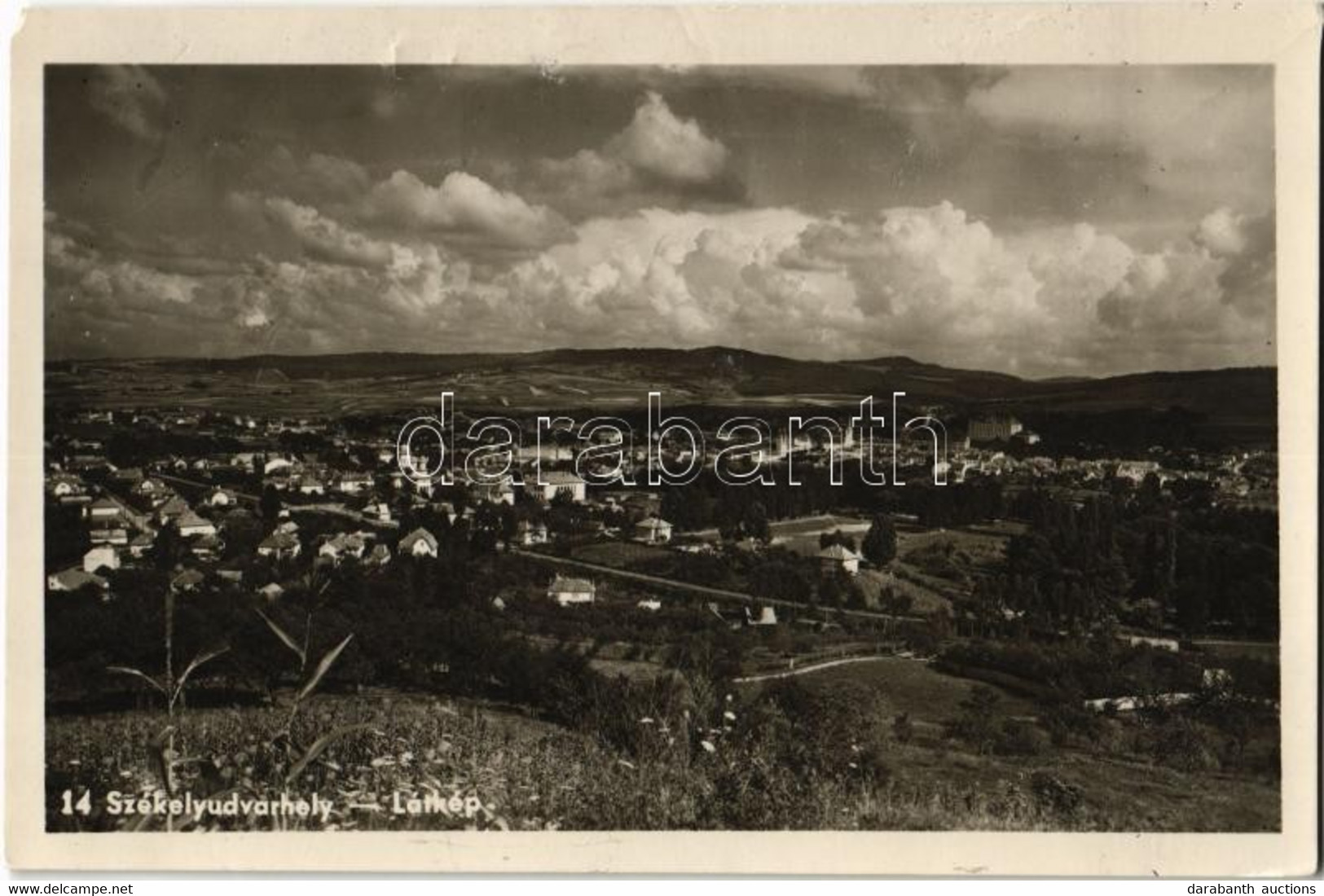 ** T4 Székelyudvarhely, Odorheiu Secuiesc; Látkép / General View (EM) - Unclassified