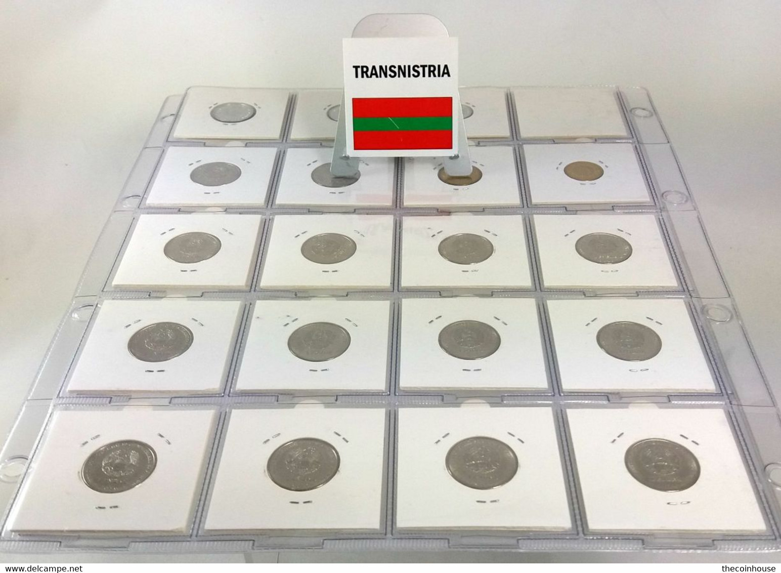 Transnistria, Lovely Coin Collection 2000-2018 With 28 Different Coins In Coinholders, All In High Grades Including Scar - Non Classificati