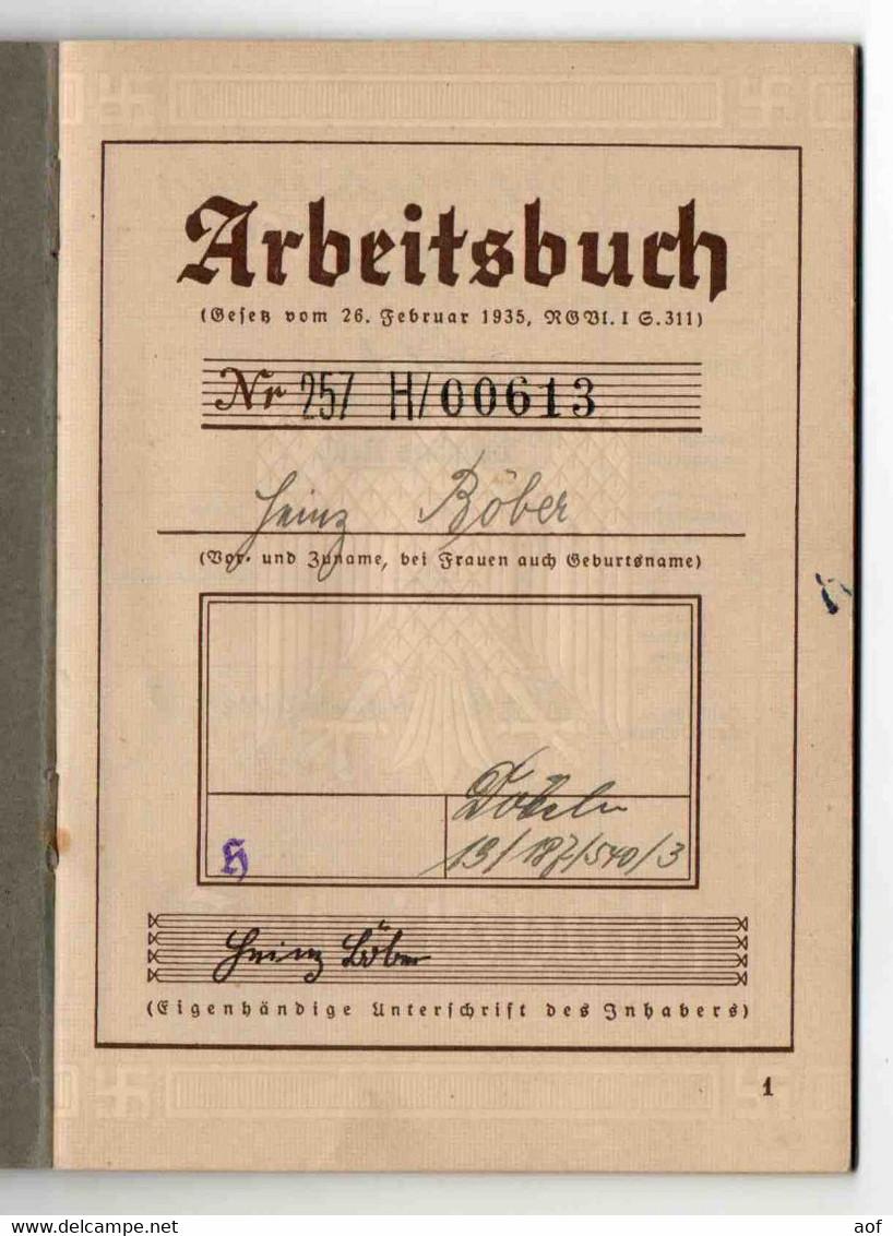 Arbeitsbuch Allemand 1935 - Documenti