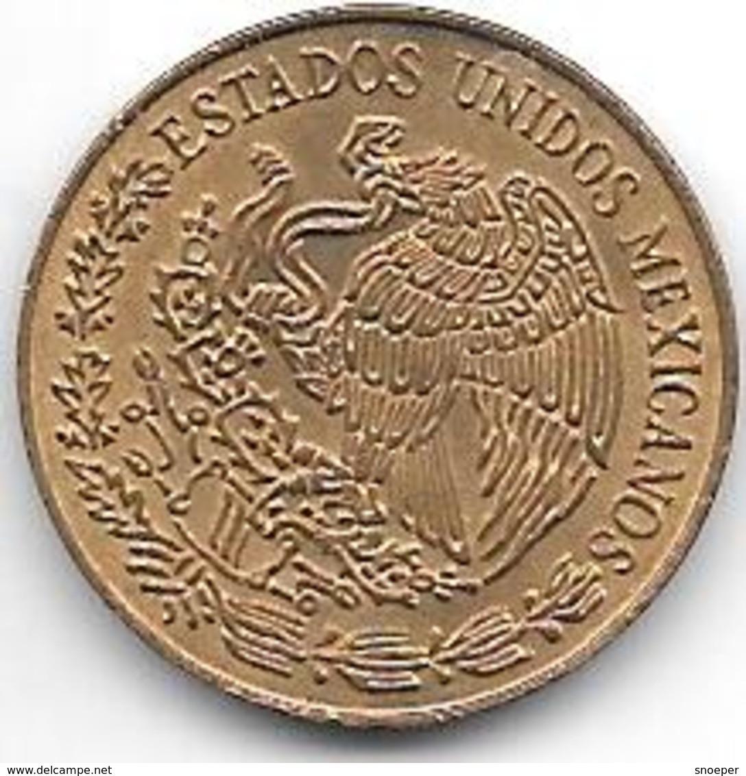*mexico 5 Centavos 1970 Km 42 7  Xf+ - Mexico