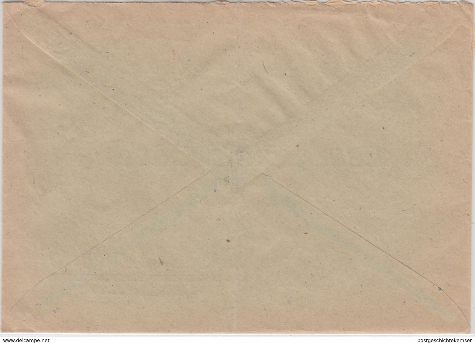 Bizone - 2x10 Pfg. Goethe Brief Limburg - Alsfeld 1950 - Zona Anglo-Américan
