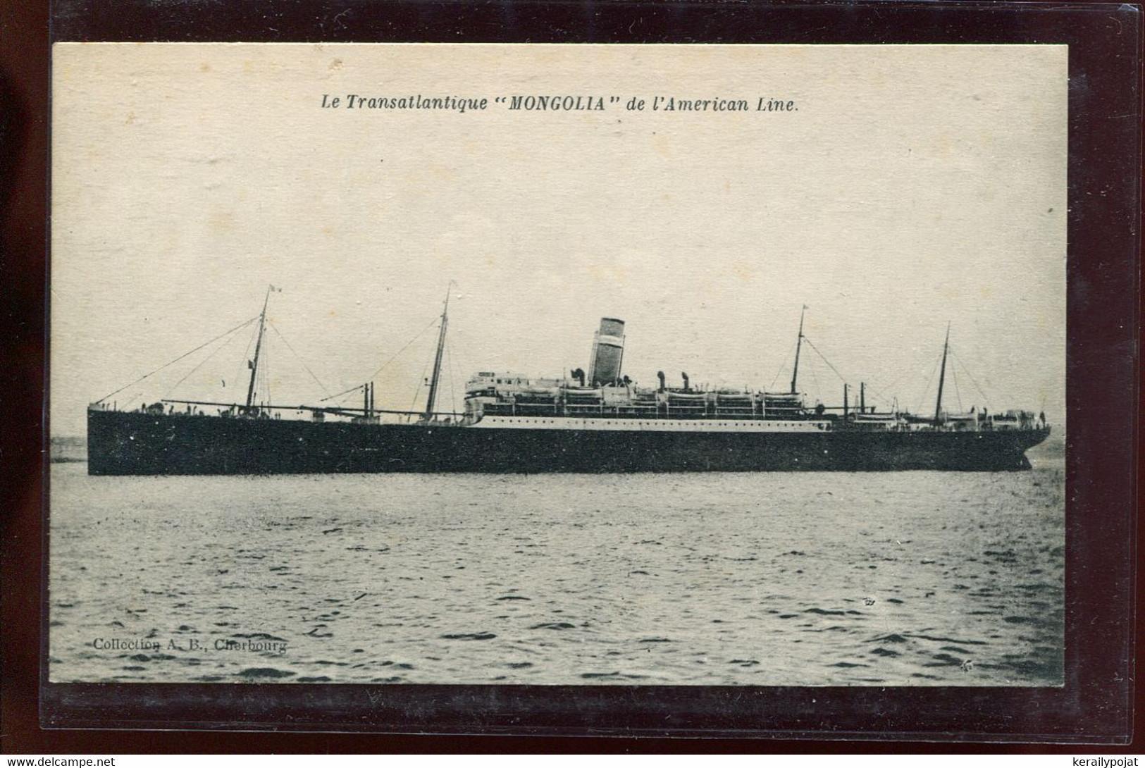 Steamers Mongolia Le Transatlantique__(2428) - Paquebote