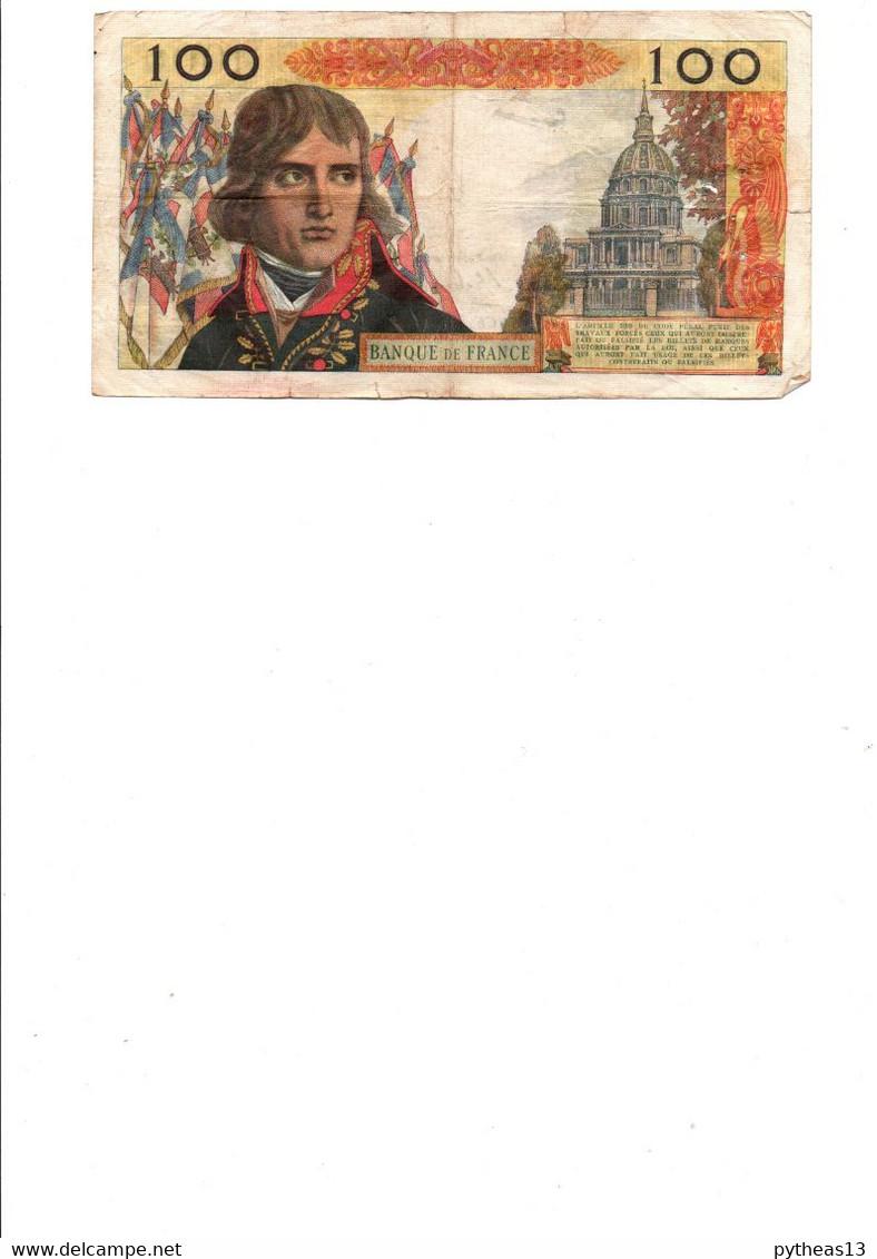 FRANCE 100NF BONAPARTE Du 1-9-1959, Quelques Trous D'épingle, Plis Et  Froissures - 100 NF 1959-1964 ''Bonaparte''