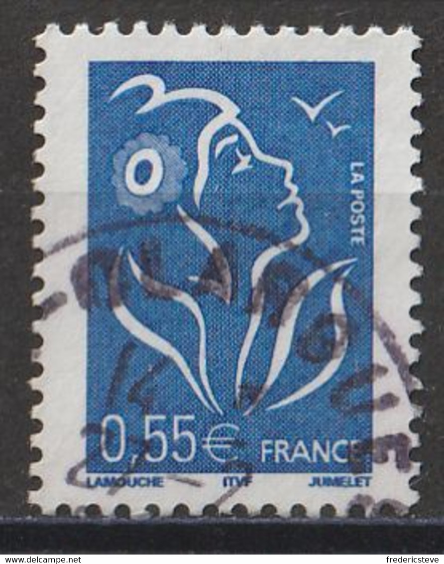 (!)  Timbre FRANCE De 2005  Marianne De Lamouche Y&T N° 3755 Oblitéré - Gebruikt
