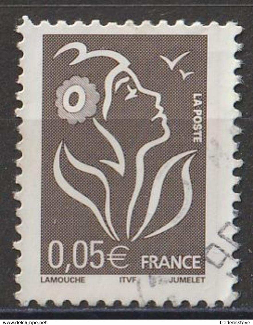 (!)  Timbre FRANCE De 2005  Marianne De Lamouche Y&T N° 3754 Oblitéré - Gebruikt