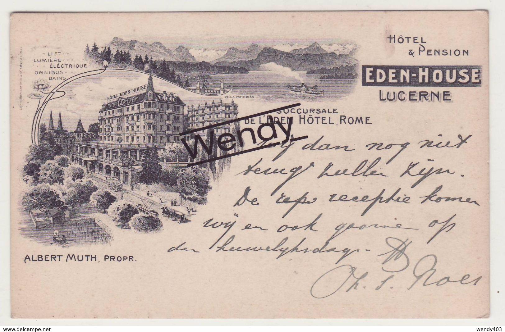 Lucerne (hotel-pension Eden House) - LU Lucerne