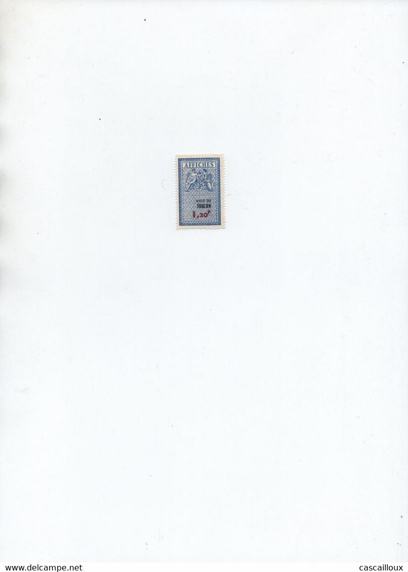 Timbres Affiche - Fiscale Zegels