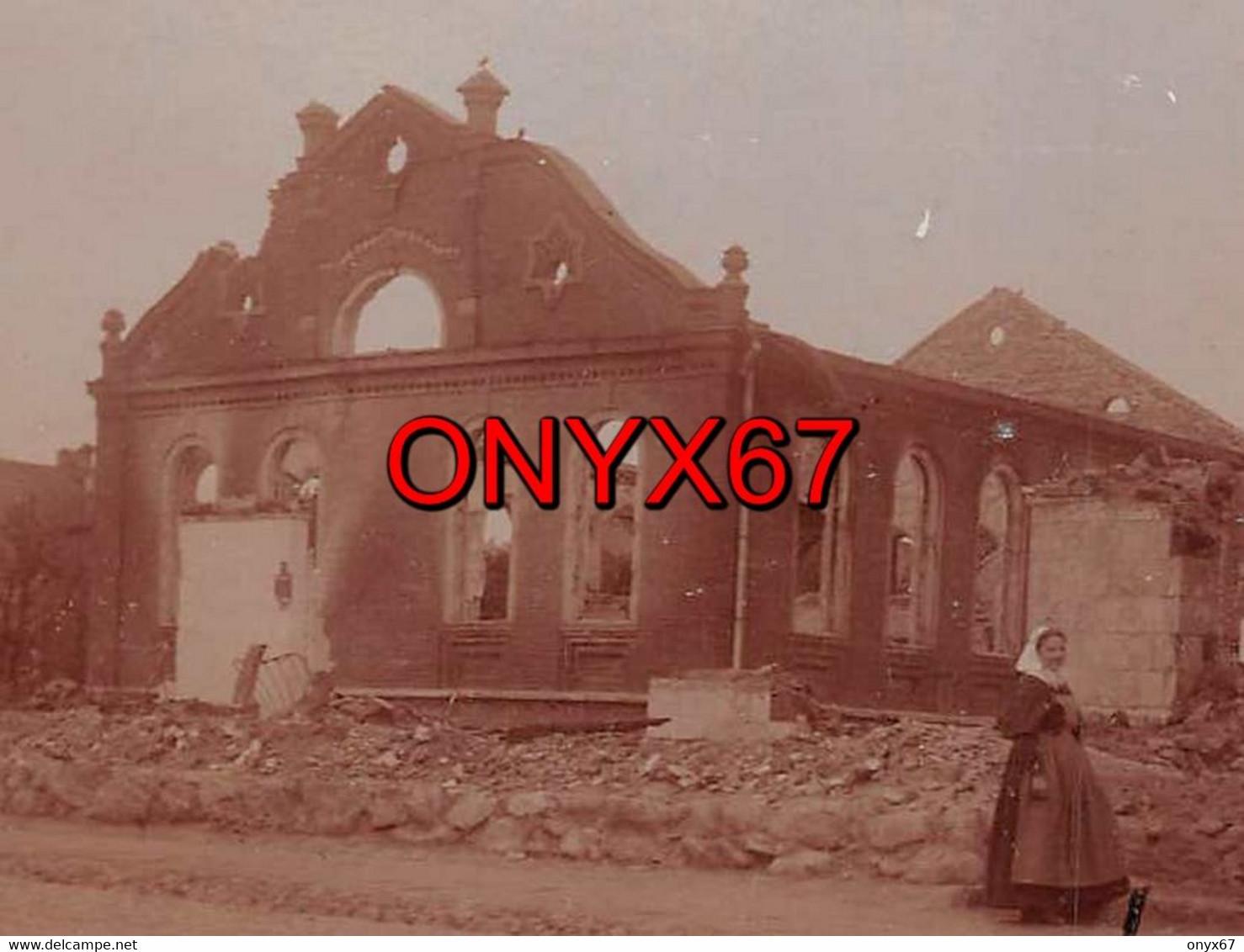 Carte Postale Photo SCHAULEN-Szawle-Siauliai-Lituanie-Lituania-SYNAGOGUE-Synagoge-Synagoga-JUDAÏCA-JUDEN-JUIF-Krieg-RARE - Lithuania