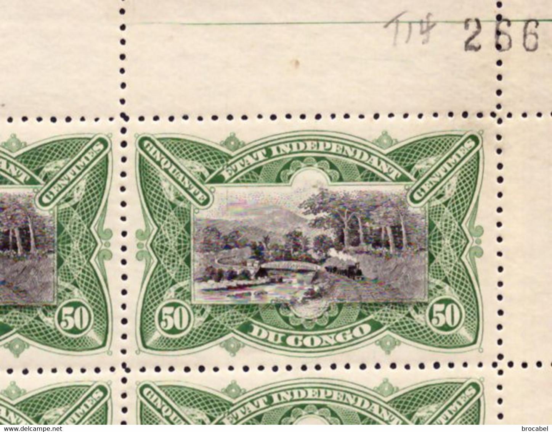 Congo 0024** Mols MNH Full Sheet - 1894-1923 Mols: Mint/hinged