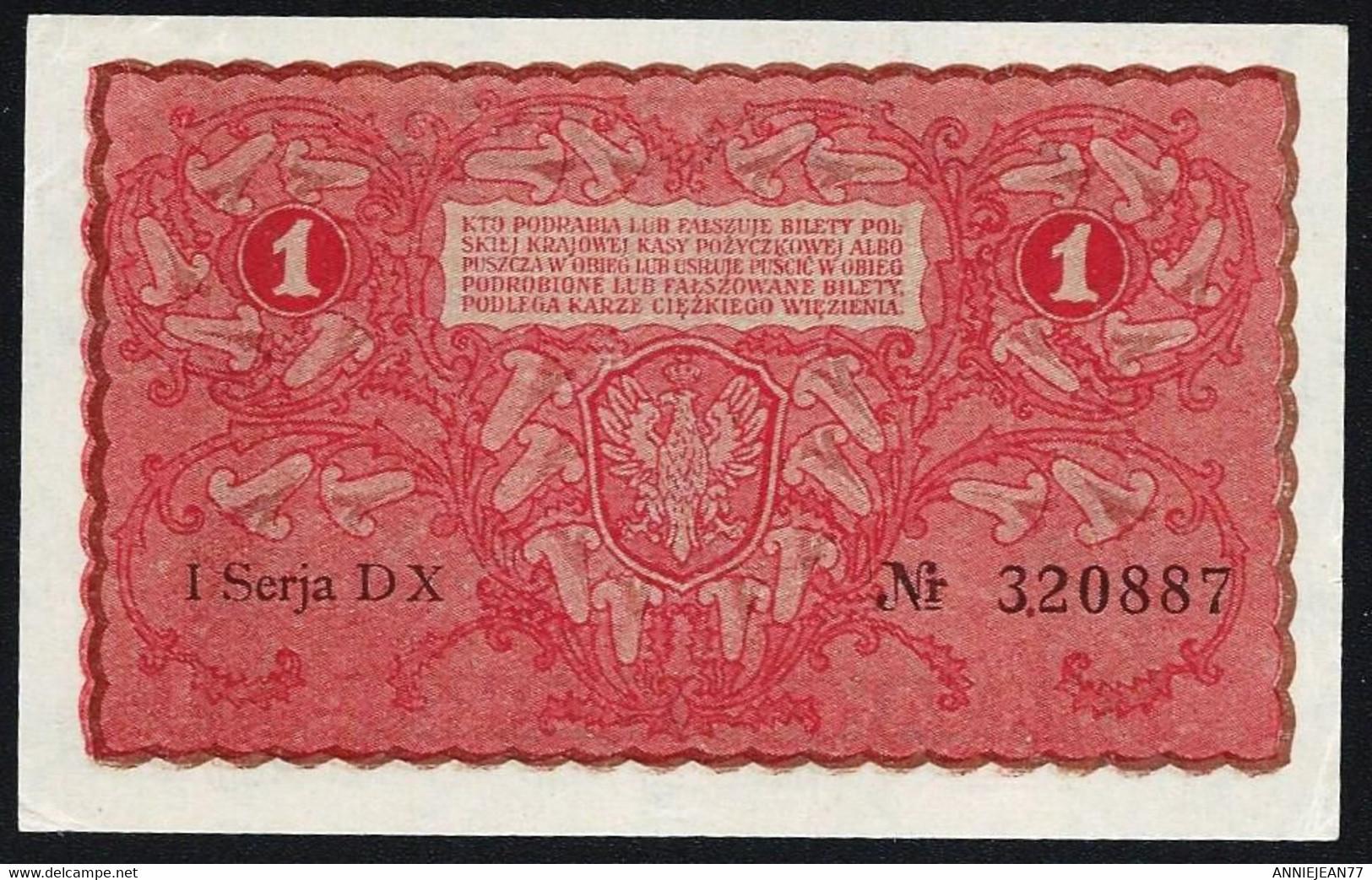 POLOGNE - 1 MARKA 1919 - UNC - Polen