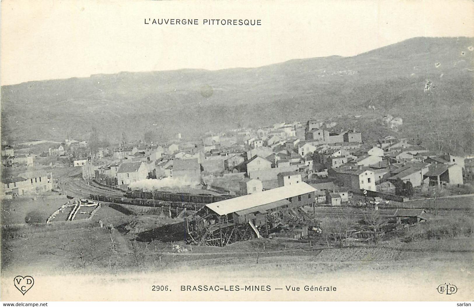 63 , BRASSAC LES MINES , Vue Generale , * 302 35 - Other Municipalities