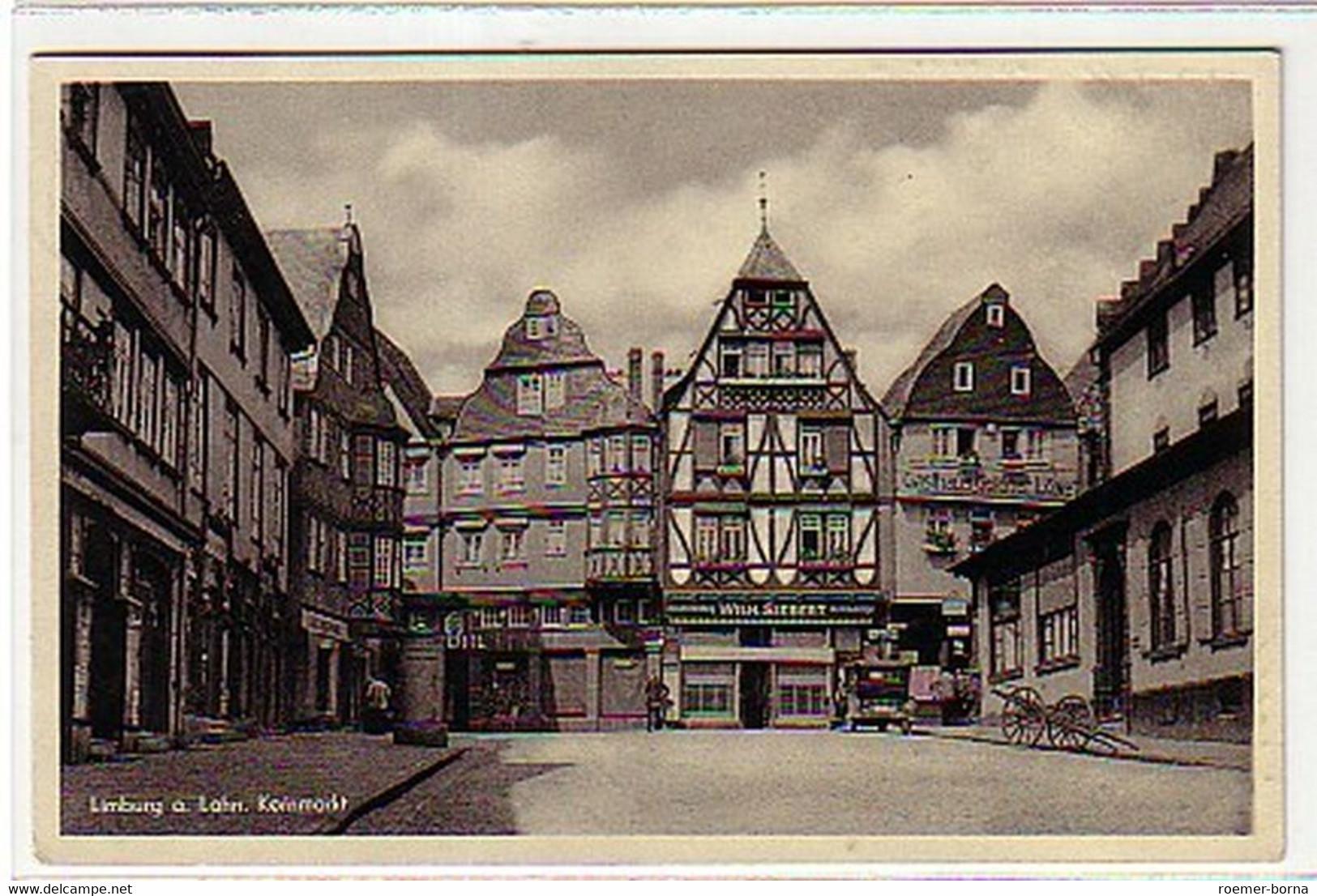 05834 Ak Limburg An Der Lahn Kornmarkt 1937 - Sin Clasificación