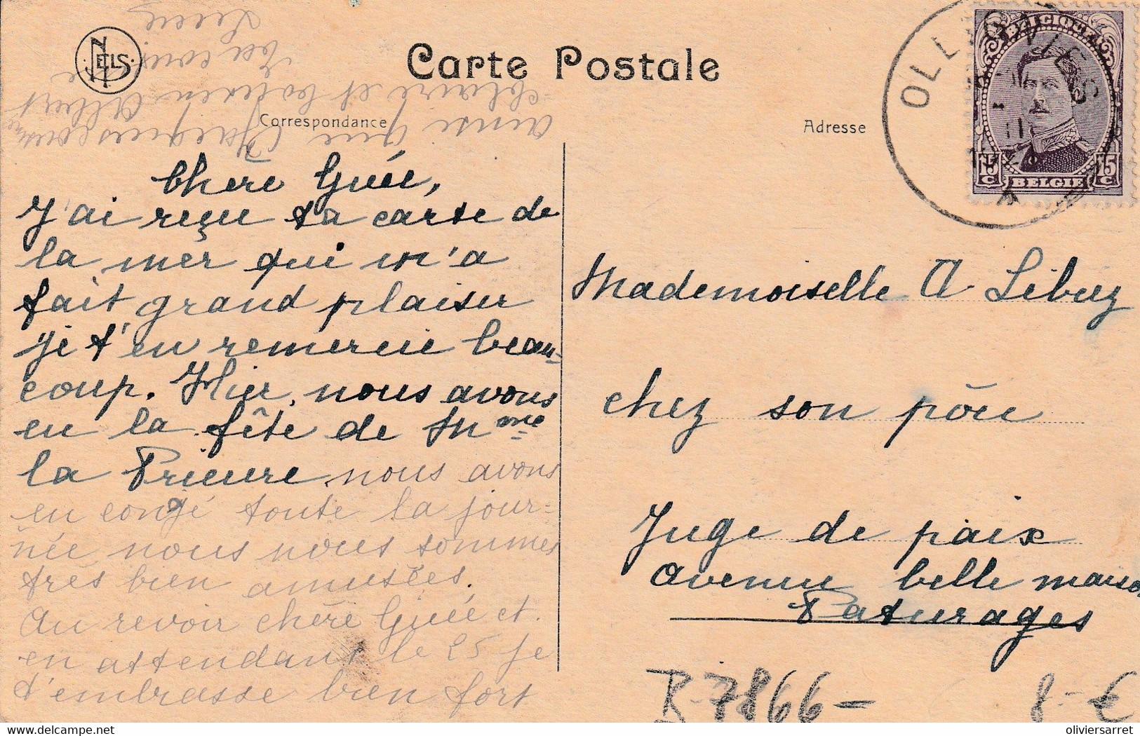 Belgique  Pensionnat Des Dames Bernardines A Ollignies - Other