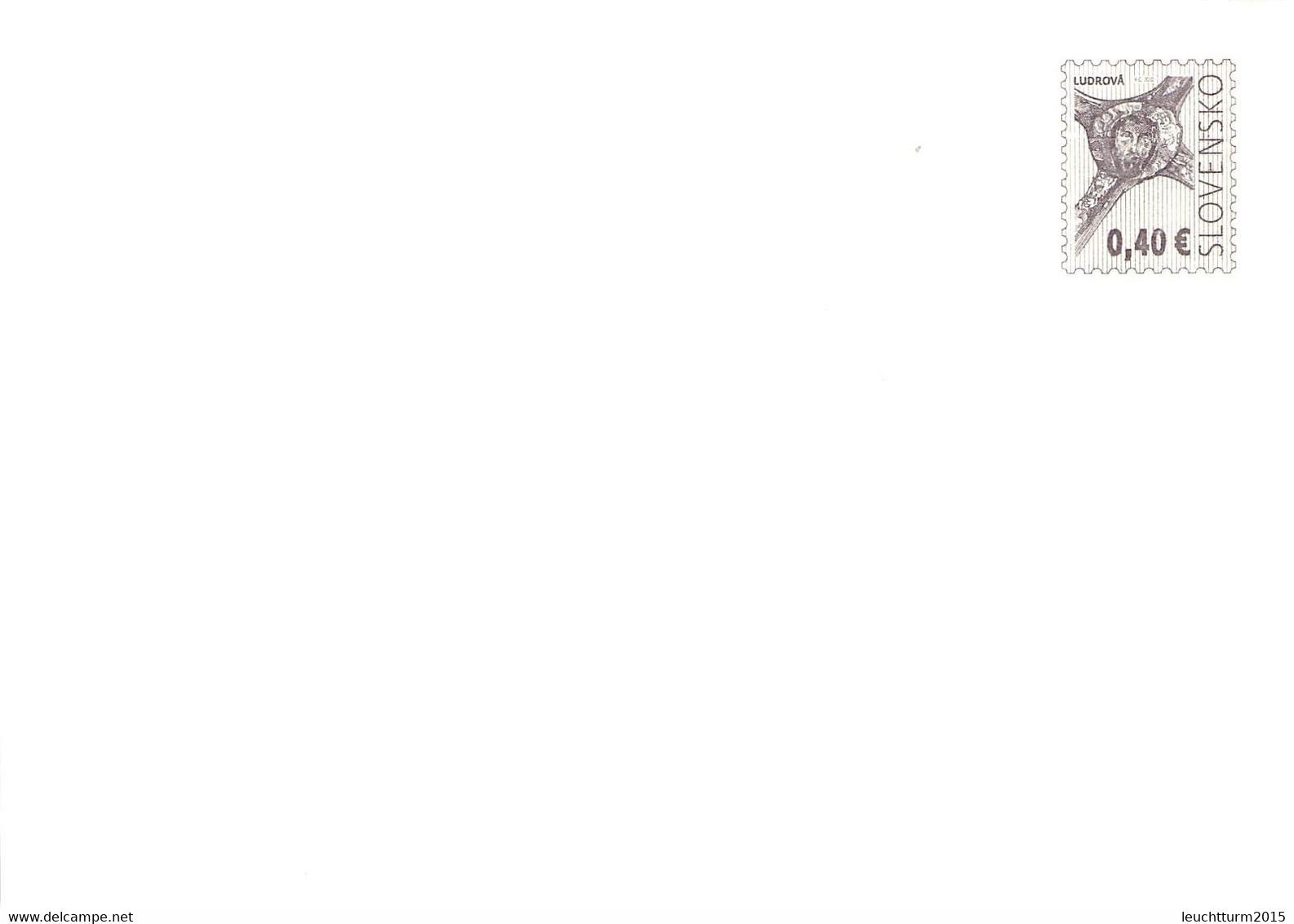 SLOVAKIA - STATIONARY ENVELOPE 2010 0,40€ Unc //Q116 - Postales