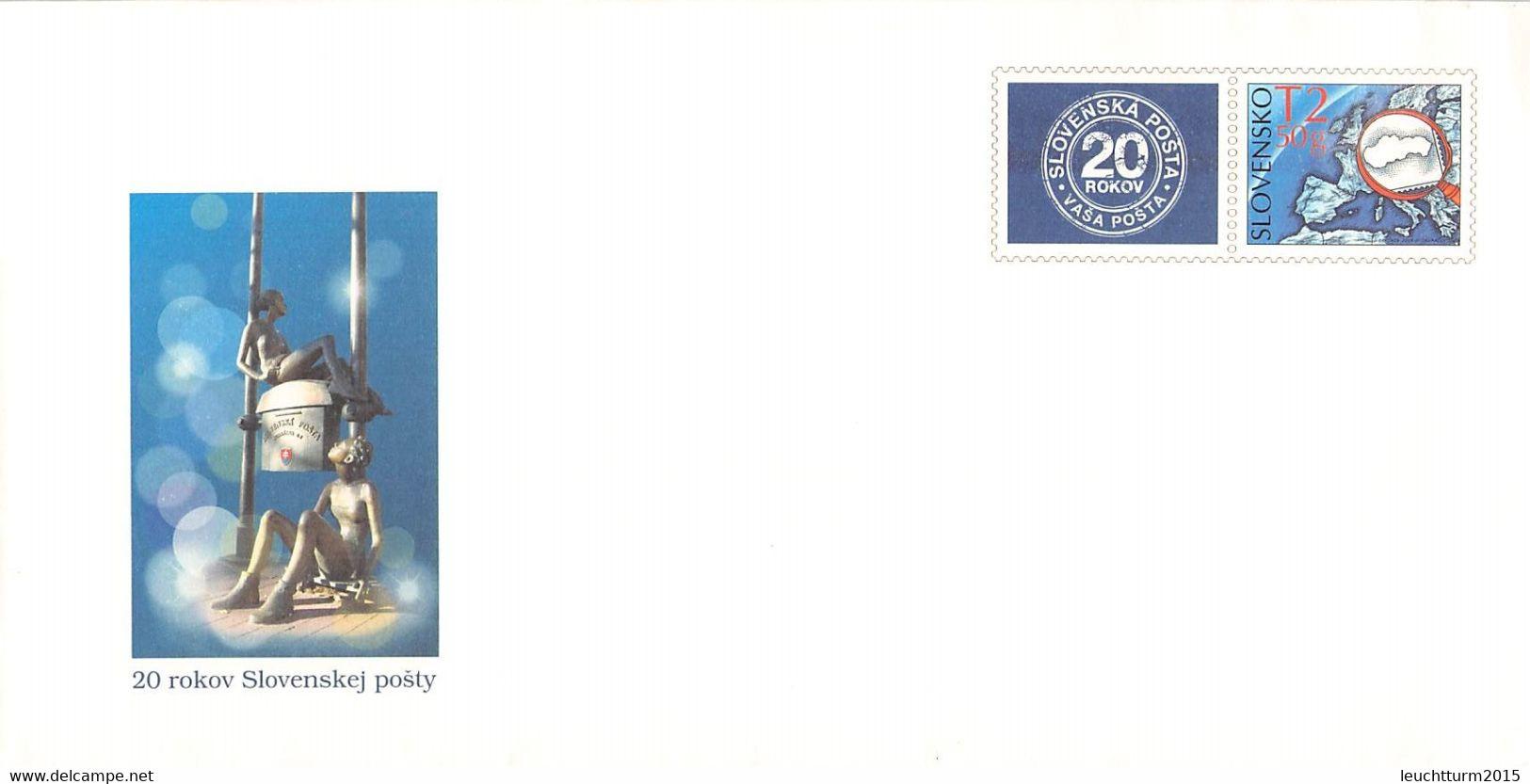 SLOVAKIA - STATIONARY ENVELOPE 2013 POST Unc //Q119 - Postales