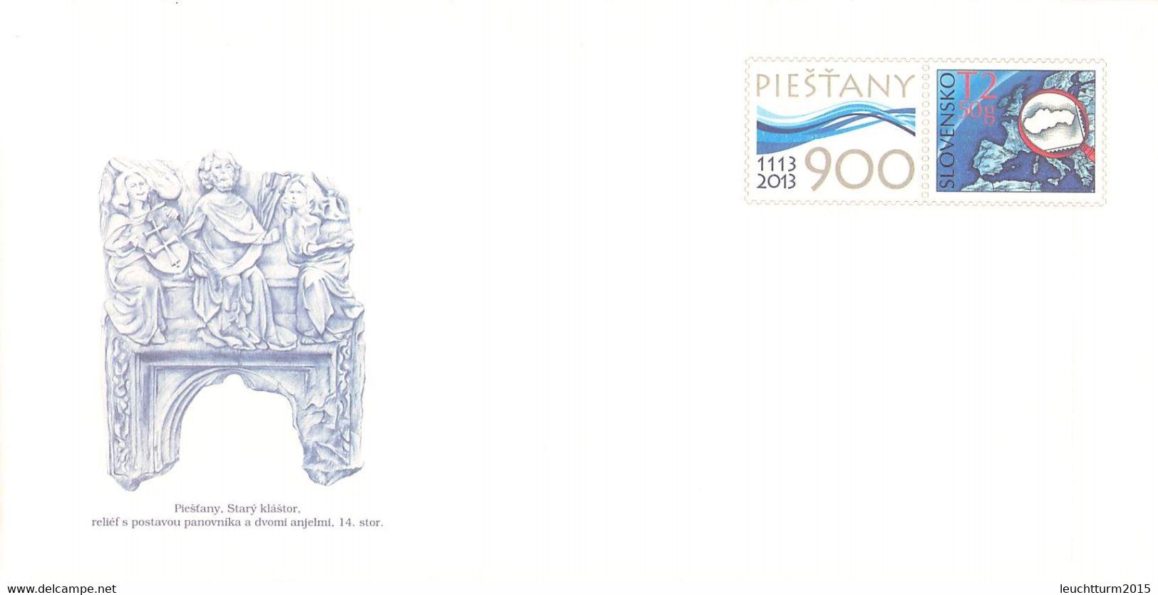 SLOVAKIA - STATIONARY ENVELOPE 2013 PIESTANY Unc //Q120 - Postales