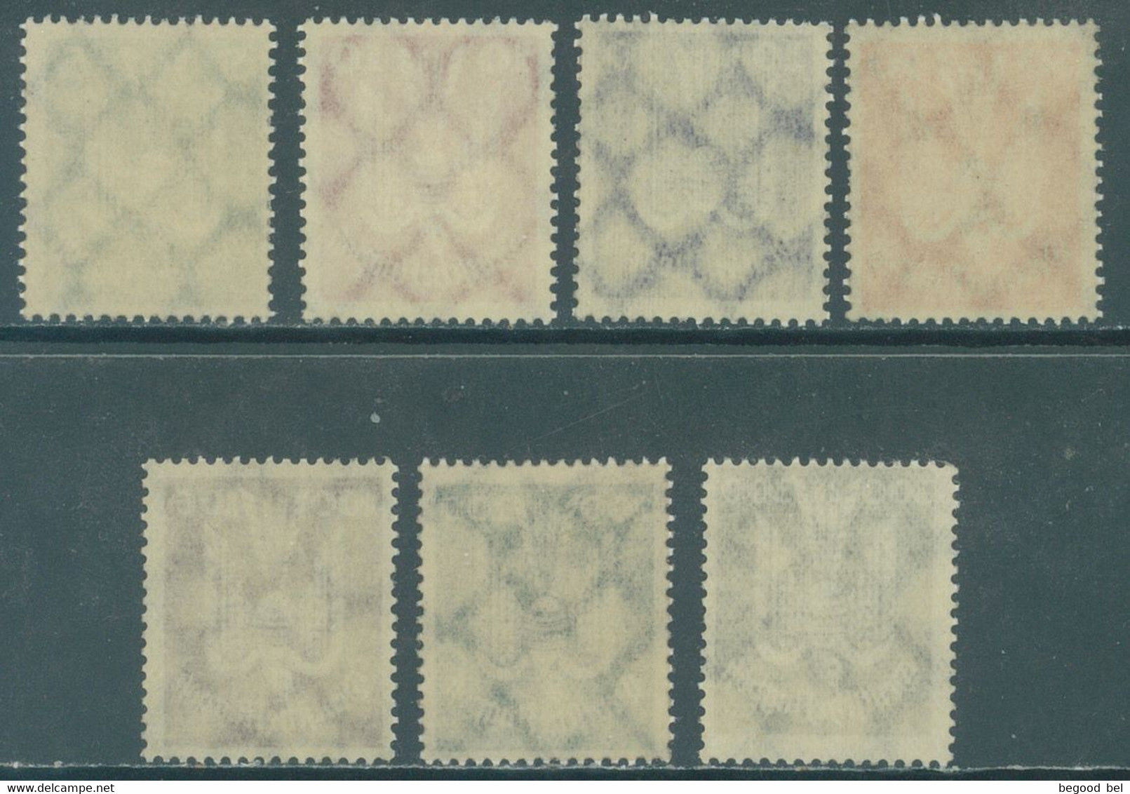 REICH - 1924 - MNH/***- LUXE  - Mi 344-350 Yv PA 20-26 - Lot 22994 - QUOTE 1500.00 EUR !!! - Unused Stamps
