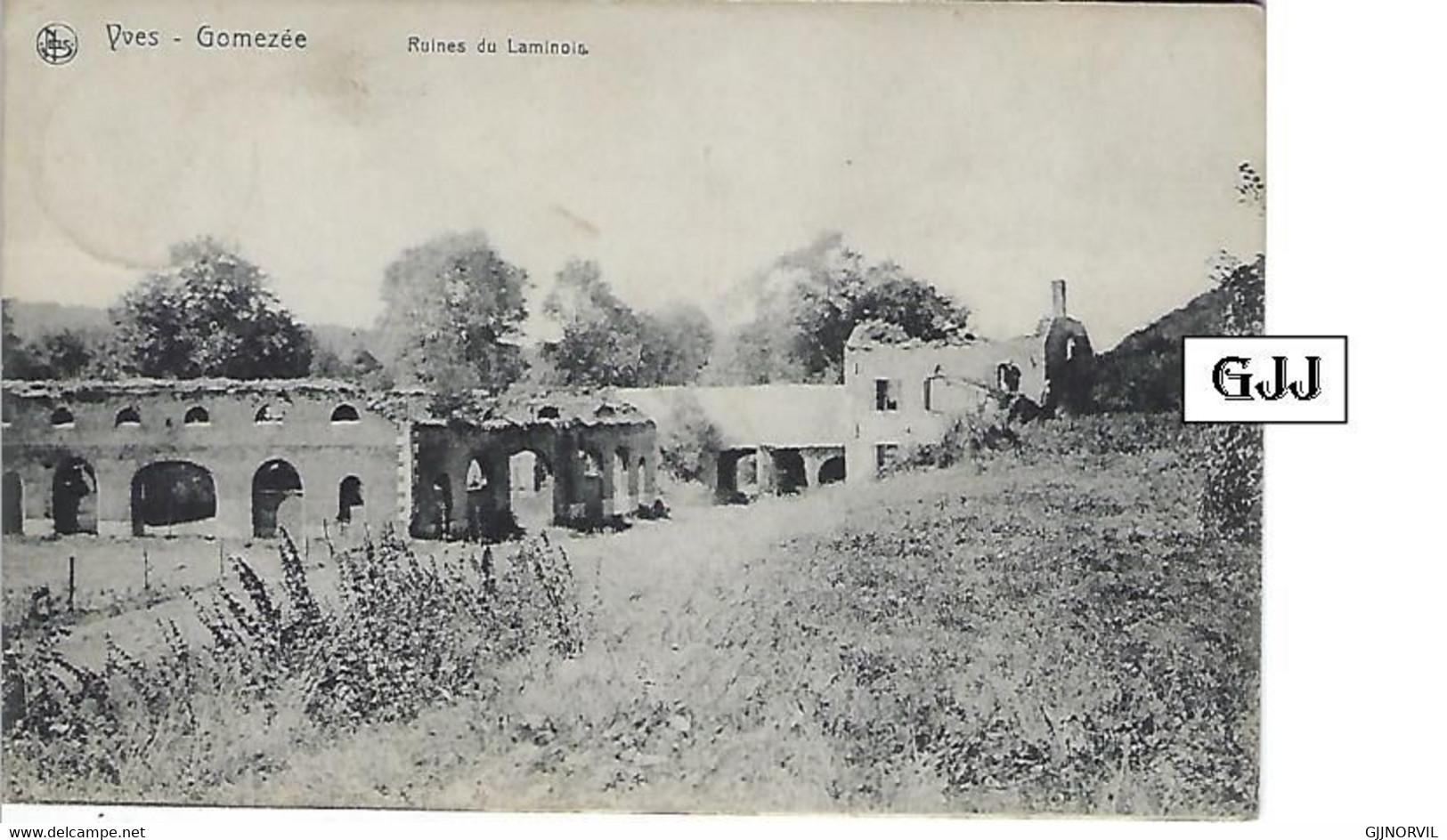 WALCOURT - YVES-GOMEZEE - Ruines Du Laminoir - Ed. Ad. Saint-Hubert - Yves-Gomzée - Rare - Walcourt