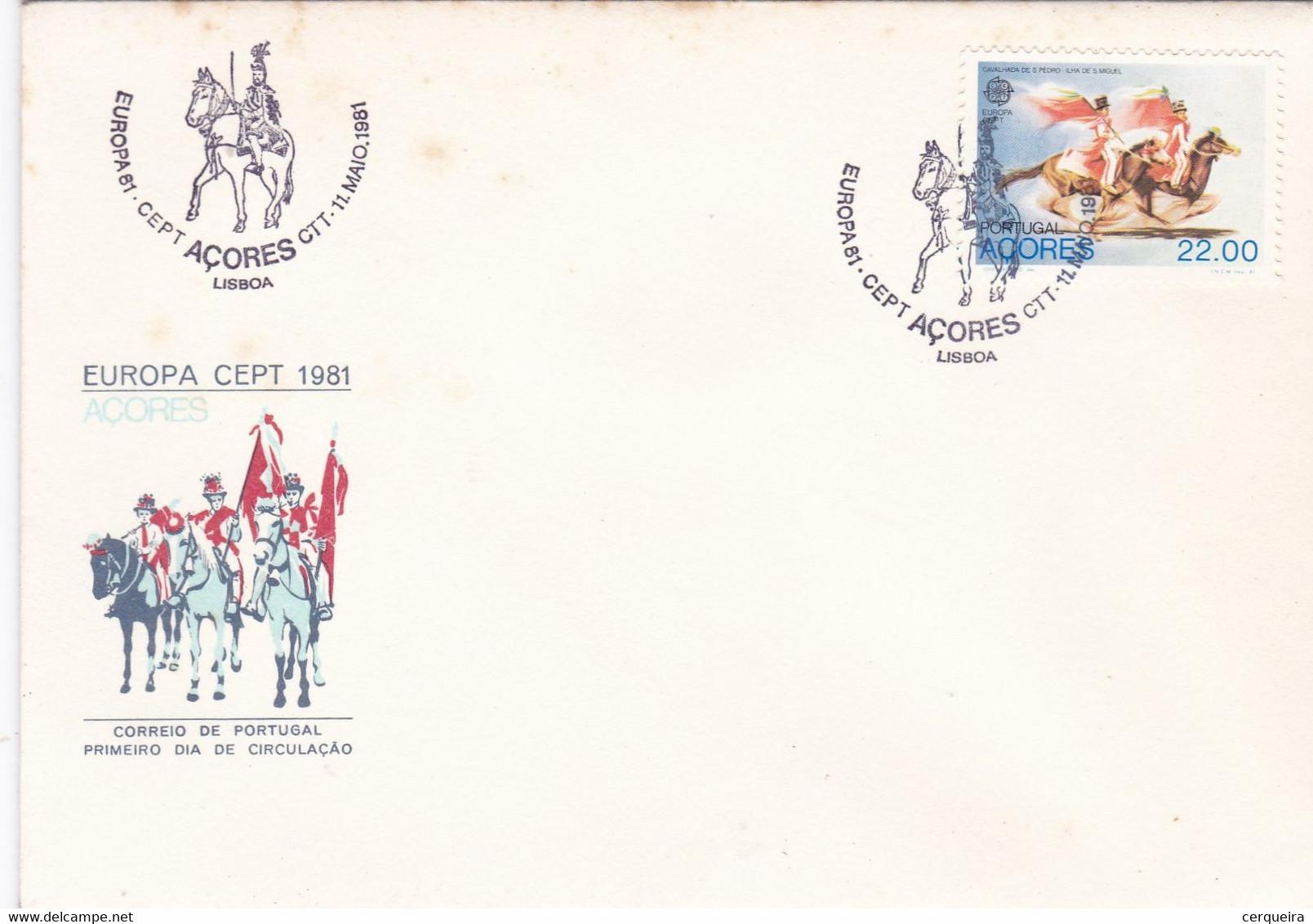 EUROPA  CEPT 1981 - Sin Clasificación
