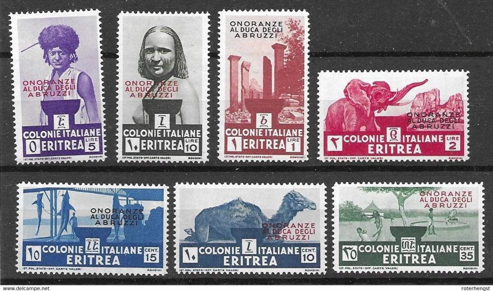 Eritrea Mh * 80 Euros 1934 - Erythrée