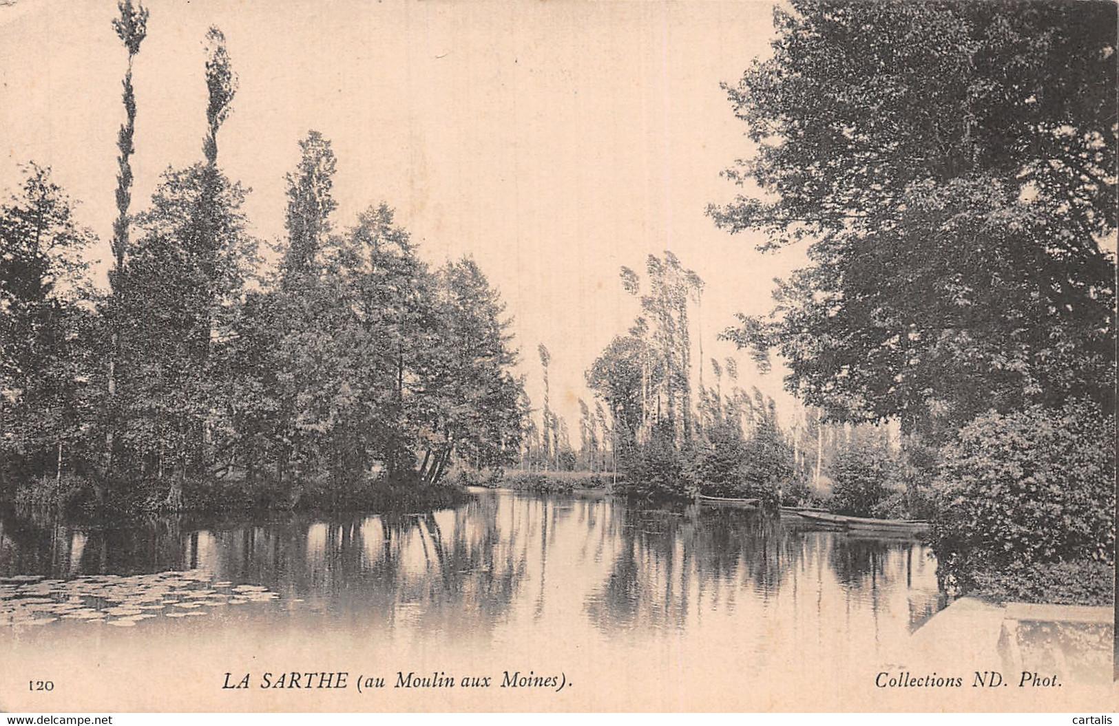 72-LA CHAPELLE SAINT AUBIN LE MOULIN AUX MOINES-N°T2918-H/0007 - Andere Gemeenten
