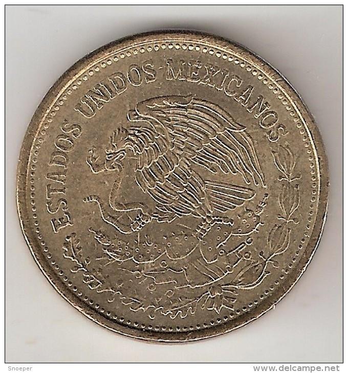 Mexico 100  Pesos  1990  Km  493    Xf+ - Mexico