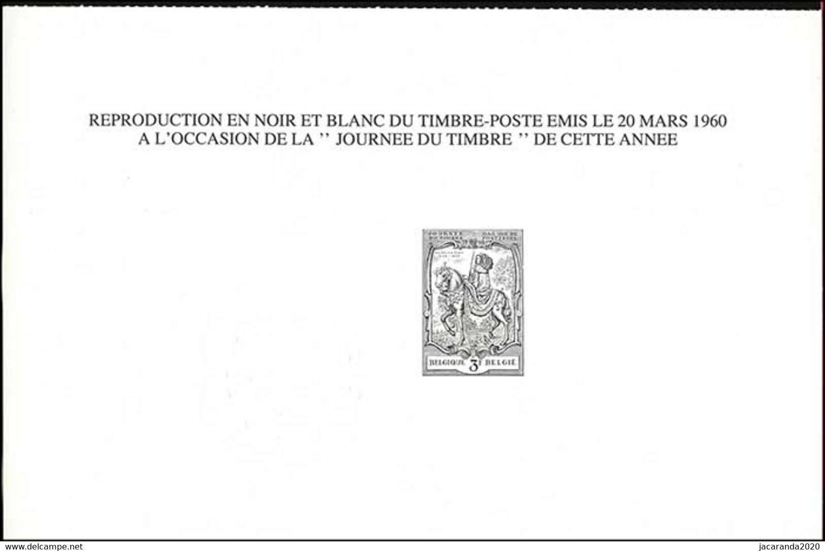 België ZNP 16 - 1984 - Dag Van De Postzegel - (1121) - FR - Zwarte/witte Blaadjes
