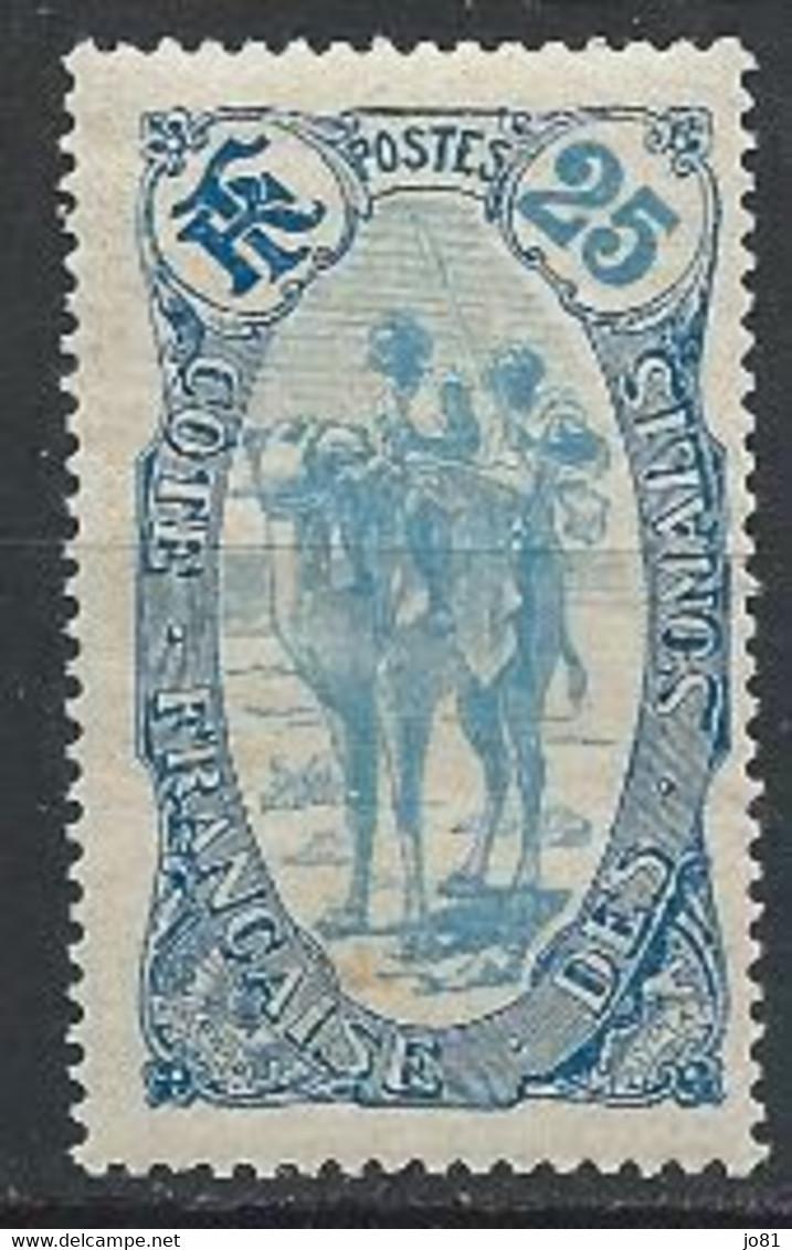 Côte Des Somalis YT 73 Neuf Sans Charnière - XX - MNH - Unused Stamps