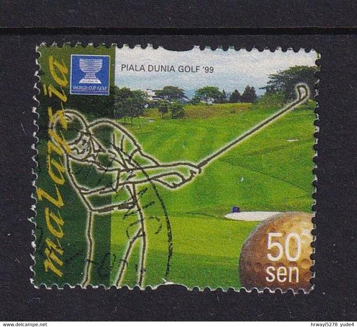 Malaysia 1999, Golf, Minr 817 Vfu - Malaysia (1964-...)