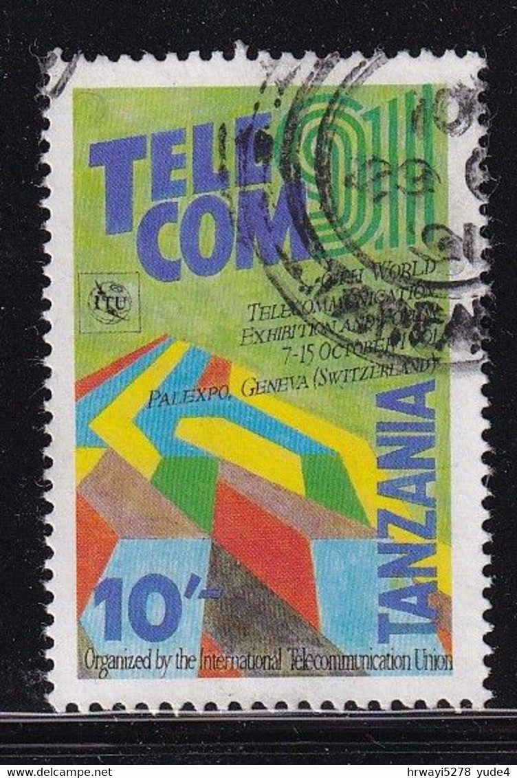 Tanzania 1991, Telecom, Minr 922 Vfu - Tanzanie (1964-...)